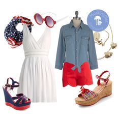 """4th of July Looks!"" by modcloth on Polyvore"