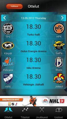 MobileSpot Oy:n mediapalvelu SM-liiga Hokkarin markkinointiviestinnän monitoimityöt sekä mediamyynti. // Mobile app for Finnish National Hockey League - marketing and b-b sales. #MobileSpot #Hokkari #sales #marketing #communications #MarikaWork