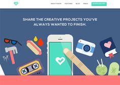 20 Stylish Examples of Flat Illustrations in Web Design Flat Web Design, Minimal Web Design, App Ui Design, Web Design Trends, Graphic Design, Creative Illustration, Flat Illustration, Illustrations, Site Vitrine