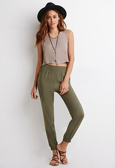 Classic Woven Joggers   Forever 21 - 2000114923