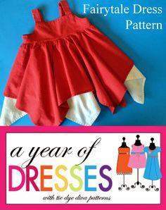 A Year of Dresses: Fairytale Dress Pattern