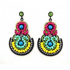 Statement Ohrringe LUELLA von TRENDOMLY JOLIE Bijouterie Earrings Jewelry Trend 2014