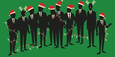 Meet the guys of Straight No Chaser! Their album will be  at the top of your holiday party playlist!