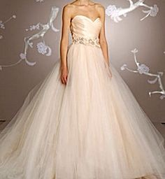 My fave dress from all the dress shows.. lazaro. So pretty!