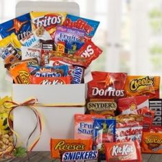 Candy and Snacks Care Package for Final Exams week