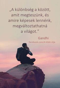 Gandhi szép idézete ♡