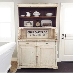 This cabinet in @sadieolivedesign 's house makes my furniture-loving heart beat a little faster... #furniture #antiques #followfriday #ff #farmhousestyle