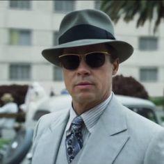 BradPitt vs vintage gold filled Sol Amor sunglasses in the movie Allied  (2016) 40c03f1e07