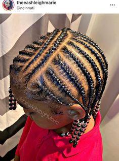 Easy Black Girl Hairstyles, Little Girls Natural Hairstyles, Toddler Braided Hairstyles, Braids Hairstyles Pictures, Little Girl Braid Styles, Little Girl Braids, Hair Styles, Ideas, Kid Hair Braids