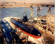 USS Drum launched at Mare Island