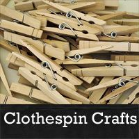 Here are some more great clothespin crafts you may want to try.  Just click on the photos for the full tutorials.