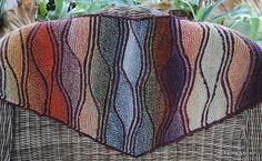 Ravelry: Swing Knits® Autumn Fusion Shawl pattern by Brigitte Elliott