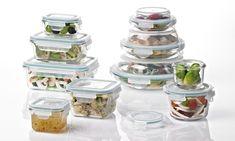 Glasslock Food Storage Container Sets: Glasslock Food Storage Container Sets