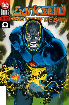 Darkseid - Master of Life and Death No. 1 Cover by JIm Lee. Coloured and packaged by Scott Dutton / Catspaw Dynamics.