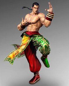 T7 Fantasy Wizard, Fantasy Warrior, Tekken 4, Tekken Tag Tournament 2, Street Fighter Tekken, Cute Art Styles, King Of Fighters, Martial Artist, Video Game Characters