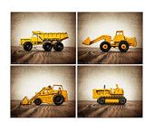 CHRISTMAS in JULY Monster Trucks photo prints set by shawnstpeter