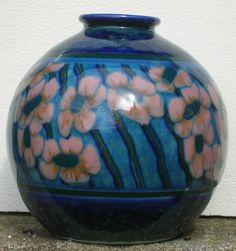 THARAUD LIMOGES vase ART DECO