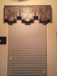 Kitchen Window Valances, Window Cornices, Bathroom Windows, Window Coverings, Kitchen Windows, Window Blinds, Window Shutters, Window Treatments Living Room, Living Room Windows