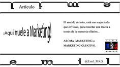 ¡Aquí huele a Marketing!