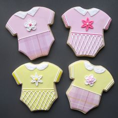 BABY Shower Cookie Favors - One Dozen. $42.00, via Etsy.