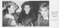 Stevie, Janna Lapidus (today: Leblanc) and Tina Vaughan ...