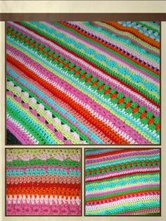 Decke nach Teil 9 #schoenstricken von Lucie Rosenrot*kreativ
