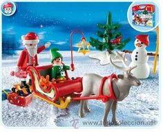 Playmobil con trineo de Santa Claus / Navidad en todocoleccion