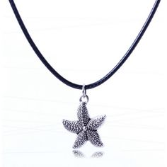 All-match Starfish Pendant Unisex Cord Necklace Free Shipping