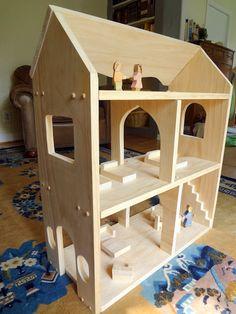 Mini Tutorial: Make a Waldorf Style Dollhouse