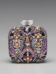 2013 Pantone Color | African Violet -Marchesa - #designer #africanviolet #clutch