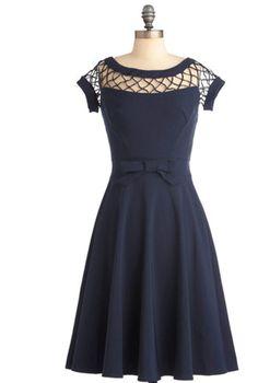 Vestido preto Modcloth