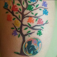 Got Ink? A colorful celebration of love.  | Square Peg in a Round Hole
