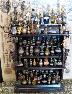 halloween apothecary | miniature halloween apothecary cupboard | ~{halloween}~curiosities