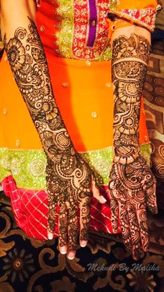 Full bridal mehndi