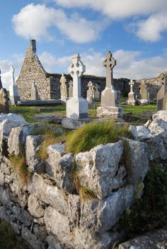 Church Cemetery, County Clare Photograph by Andrew Leahy