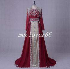 528fe26460368 Kaftan Luxury Long Chiffon Muslim Evening dresses Beaded Prom Formal Gown  Dress #affilink Evening Dresses