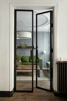 Home Decor || Glass door. pb