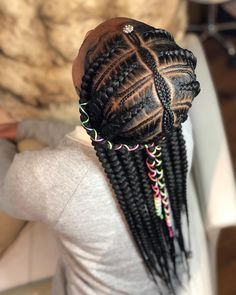 Black Kids Hairstyles with braids, Beads and Other Accessories … - Box Braids Hairstyles Toddler Braided Hairstyles, Toddler Braids, Black Kids Hairstyles, Braids For Kids, Girls Braids, Little Girl Hairstyles, Kids Braids With Beads, Little Girl Braids, Black Girl Braids