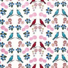 fabric whitebird