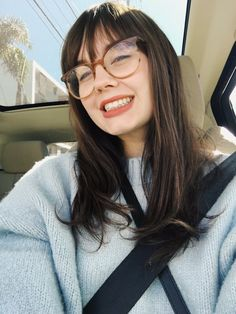 5 Long Fringe Hairstyles & Haircuts To Refresh Your Look Long Fringe Hairstyles, Fringe Haircut, Hairstyles With Bangs, Bangs And Glasses, Hairstyles With Glasses, Eye Glasses, Bangs With Medium Hair, Medium Hair Styles, Short Hair Styles