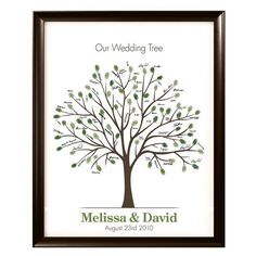 Wedding Tree...or any big special occasion ...great idea.