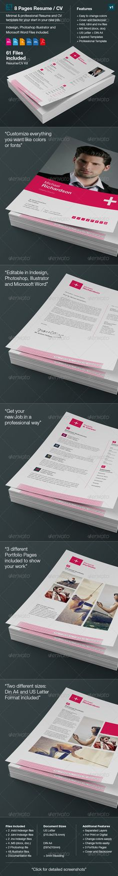 Resume Template, Microsoft word and Microsoft - different resume templates
