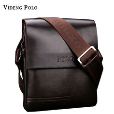 d3593a4916 2017 New High Quality PU Leather Mens Messenger Bags Famous Brand Casual Business  Man Bag Men Shoulder Bag Crossbody Bag bao bao-in Crossbody Bags from ...