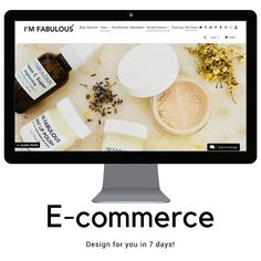 Shopify eCommerce Website Design Complete Custom Website Design Branding with Facebook Storefront 20 Products 5 Categories. MADE FOR YOU IN JUST 7 DAYS!