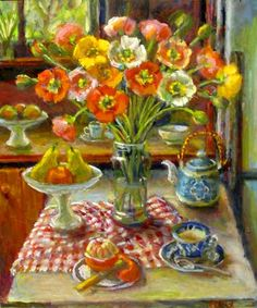 Poppies Margaret Olley