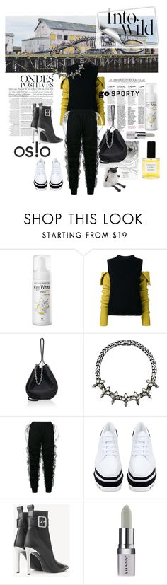 """OSLO : go sporty #36"" by strawberry-latte ❤ liked on Polyvore featuring Anja, Identity, Calvin Klein 205W39NYC, Alexander Wang, Y/Project, STELLA McCARTNEY, rag & bone, Zara Home and Shany"