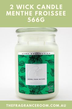 The aroma from Nature Range Double Wick 20oz candles has a burn time of approximately 90 hours. This high strength fragrance is MENTHE FROISSEE Fragrant Candles, Scented Candles, Candle Wax, Wicked, Strength, Fragrance, Range, Nature, Food