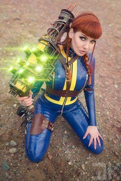 Cosplay Manga Vault girl by Psylocke - Fallout Cosplay, Latex Cosplay, Superhero Cosplay, Marvel Cosplay, Cosplay Outfits, Cosplay Girls, Mad Max, Science Fiction, Girly
