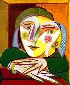 Pablo Picasso - Woman at a window - Prent