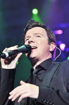 Rick Astley . . . . oh the 80's!